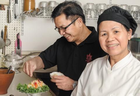 In The Kitchen - Bangkok Thai, photo by Ian McCausland
