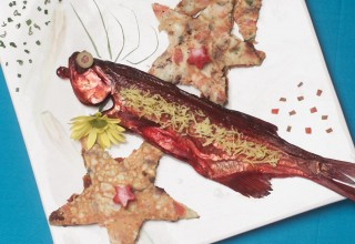 Manitoba Smoked Goldeye with Mediterranean Star Frittatas by Chef Marie Caldwell, Star Grill