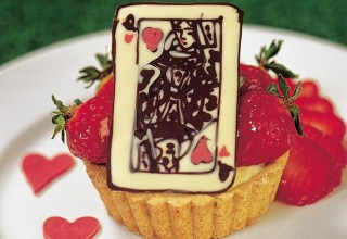 Queen of Hearts Tarts by Chef Jonathan Buffie and Pastry Chef Doug Krahn, Breadworks