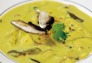 Curried Mushroom Soup by Chef Gary Patson and Sous Chef Mac Nurse, Maxime Restaurant