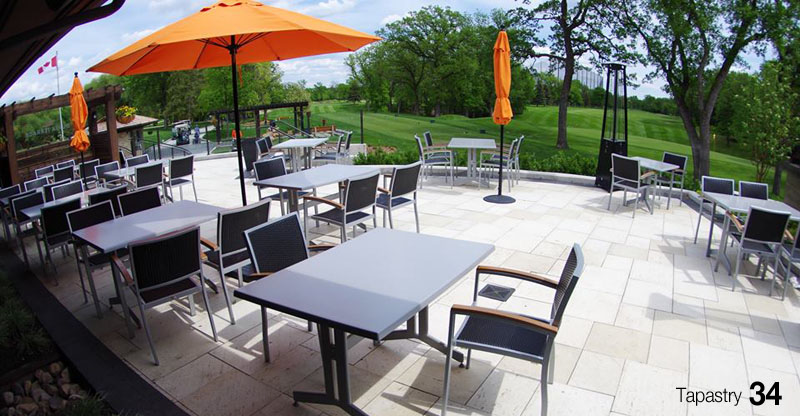 Winnipeg's Best Patios - Tapastry at Niakwa Golf and Country Club