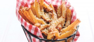 Rutabaga Fries recipe from Leighton Fontaine of Osborne Village Cafe