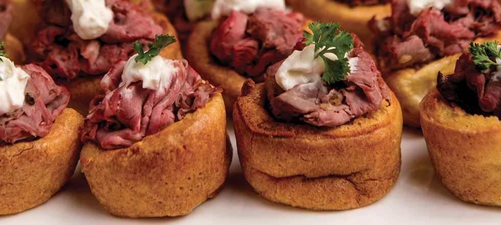 Appetizer- Mini Yorkshire Puddings