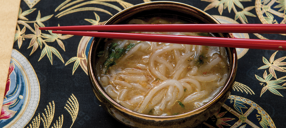 Laotian Chicken Noodle Soup