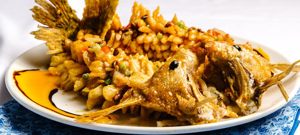 Sweet & Sour Mandarin Fish