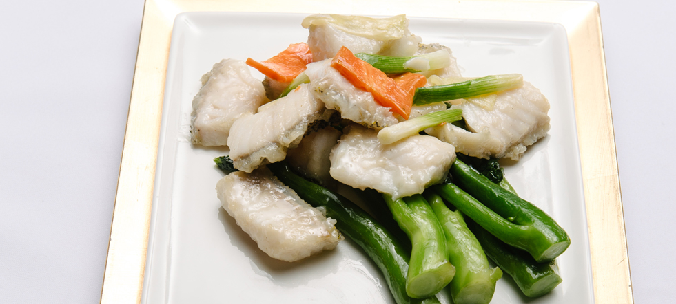 Stir Fried Pickerel