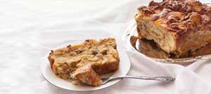Savoury Croissant Bread Pudding