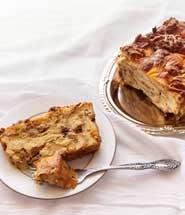 Savoury Croissant Pudding