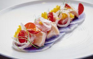 Tuna and Salmon Kinilaw
