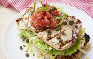 Swordfish Steak Sandwich