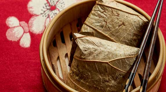 Lotus Leaf Sticky Rice